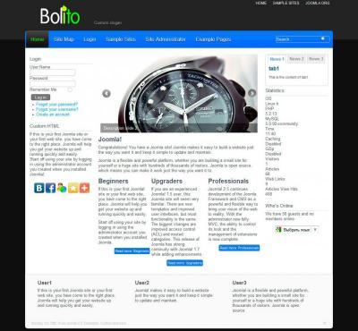 Шаблон Bolito FJT