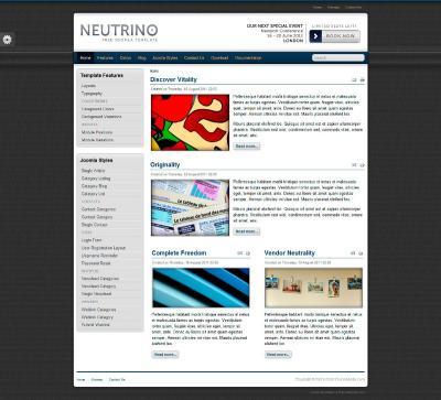 Шаблон TR Neutrino